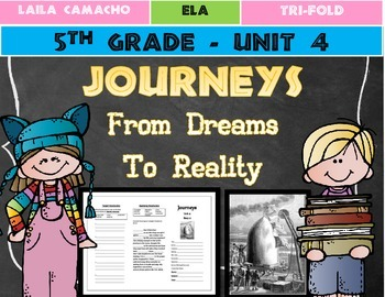 Journeys Grade 5 Trifold (From Dreams to Reality)