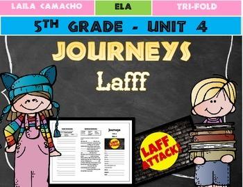 Journeys Grade 5 Trifold (Lafff)