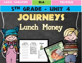 Journeys Grade 5 Trifold (Lunch Money)