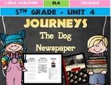 Journeys Grade 5 Trifold (The Dog Newspaper)