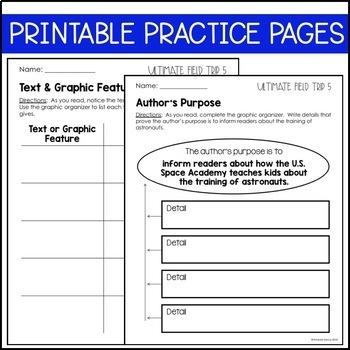 Journeys Grade 5 Unit 1 BUNDLE: Supplemental & Interactive Materials (2011/2012)