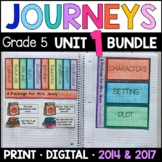 Journeys Grade 5 Unit 1 BUNDLE: Supplemental Materials with Interactive pages