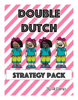 Journeys Grade 5 Unit 1 Lesson 4: Double Dutch Reading Strategies Pack