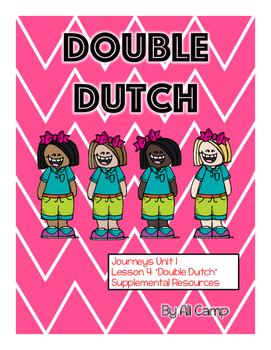 Journeys Grade 5 Unit 1 Lesson 4:  Double Dutch Supplemental Resources Pack