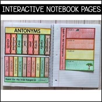 Journeys Grade 5 Unit 2 BUNDLE: Supplemental Materials with Interactive pages