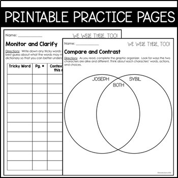 Journeys Grade 5 Unit 3 BUNDLE: Supplemental Materials with Interactive pages