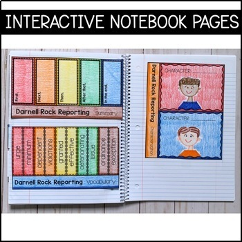 Journeys Grade 5 Unit 4 BUNDLE: Supplemental Materials with Interactive pages