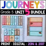 Journeys 5th Grade Unit 5 BUNDLE: Interactive Supplements 2014/2017 • GOOGLE