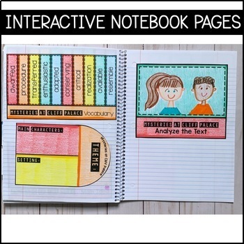 Journeys Grade 5 Unit 6 BUNDLE: Supplemental Materials with Interactive pages