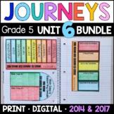 Journeys 5th Grade Unit 6 BUNDLE: Interactive Supplements 2014/2017 • GOOGLE