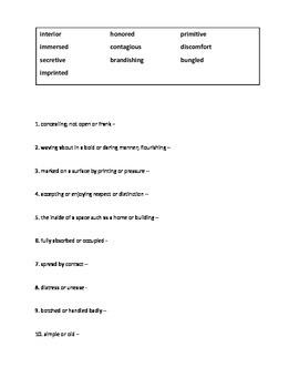 Journeys Grade 5 Unit 1, Unit 2, Unit 3, Unit 4, Unit 5 Vocabulary and Spelling