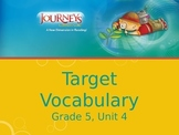 Journeys, Grade 5, Vocabulary in Context, Unit 4