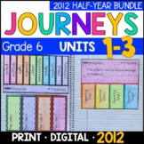 Journeys Grade 6 HALF-YEAR BUNDLE 2011/2012: Units 1-3 (Interactive Supplements)
