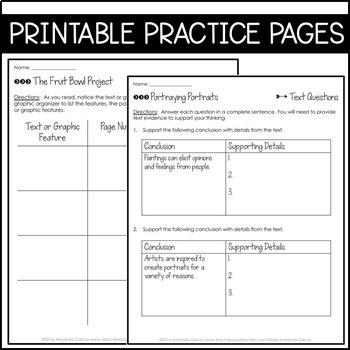 Journeys Grade 6 Unit 1 BUNDLE 2011/2012: (Supplemental & Interactive Pages)