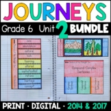 Journeys Grade 6 Unit 2 BUNDLE: Supplemental Materials with Interactive Pages