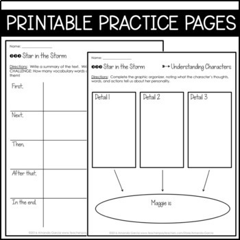 Journeys Grade 6 Unit 3 BUNDLE 2011/2012: Supplemental & Interactive Pages