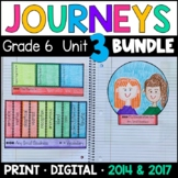 Journeys Grade 6 Unit 3 BUNDLE: Supplemental Materials with Interactive Pages