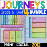 Journeys Grade 6 Unit 4 BUNDLE 2011/2012: Supplemental & Interactive Pages