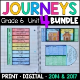 Journeys Grade 6 Unit 4 BUNDLE: Supplemental Materials with Interactive Pages