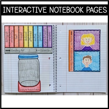 Journeys Grade 6 Unit 6 BUNDLE: Supplemental Materials with Interactive Pages