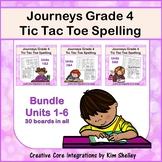 Journeys Grade 4 Spelling Tic Tac Toe