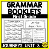 Journeys FIRST Grade Grammar Mini Books: Unit THREE