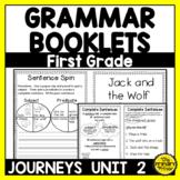 Journeys FIRST Grade Grammar Mini Books: Unit TWO