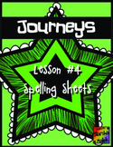 Journeys First Grade Lesson 4 Spelling