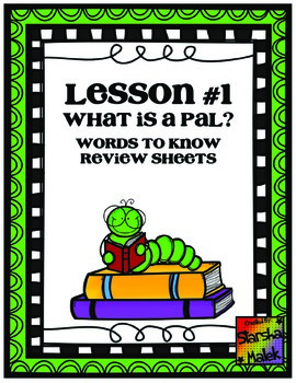 Journeys First Grade Lesson 1