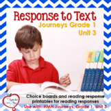 Journeys Grade One, Unit 3: Response to Text