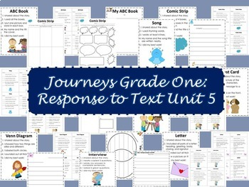 Journeys Grade One, Unit 5: Response to Text