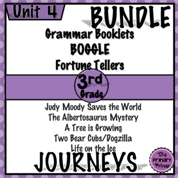 Journeys THIRD Grade: Unit FOUR Bundle