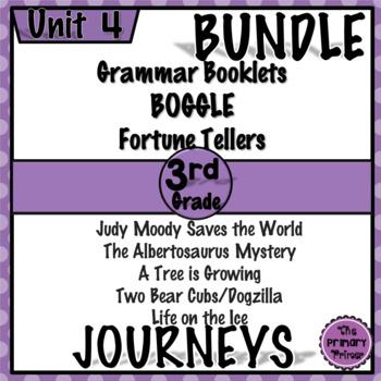 Journeys THIRD Grade: Unit FOUR Bundle