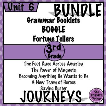 Journeys THIRD Grade: Unit SIX Bundle