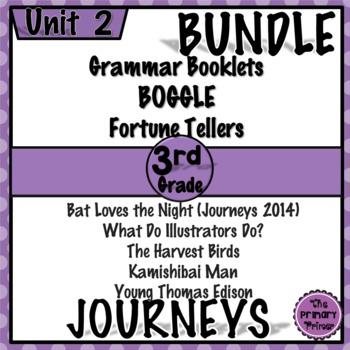 Journeys THIRD Grade: Unit TWO Bundle