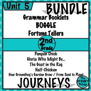 Journeys Grade TWO: Unit FIVE Bundle