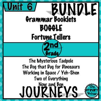 Journeys SECOND Grade: Unit SIX Bundle