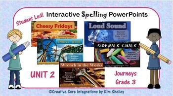 Journeys Grade Three Interactive Spelling Unit Two