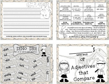 Journeys THIRD Grade: Unit FOUR Grammar Mini Books