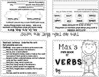 Journeys THIRD Grade Grammar Mini Books: Unit TWO
