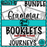 Journeys SECOND Grade Grammar Mini Books: The BUNDLE Units 1-6