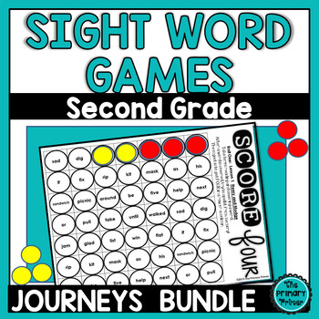 Journeys SECOND Grade  SCORE Four: The BUNDLE  Units 1-6