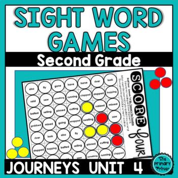 Journeys SECOND Grade SCORE Four:  Unit FOUR