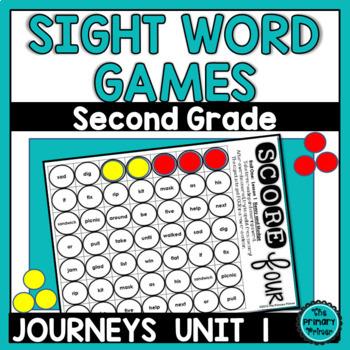 Journeys SECOND Grade SCORE Four:  Unit ONE