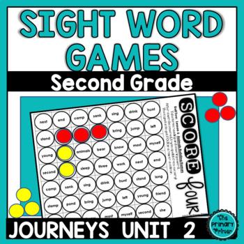 Journeys SECOND Grade  SCORE Four:   Unit TWO