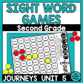 Journeys SECOND Grade SCORE Four:  Unit FIVE