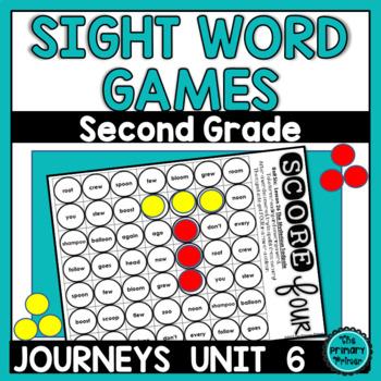 Journeys SECOND Grade SCORE Four: Unit SIX