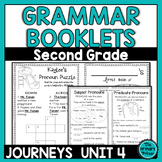 Journeys SECOND  Grade Grammar Mini Books: Unit FOUR