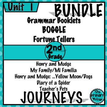 Journeys SECOND Grade: Unit ONE Bundle