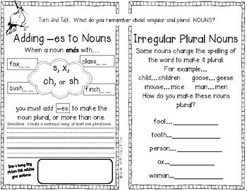 Journeys SECOND Grade  Grammar Mini Books: Unit TWO